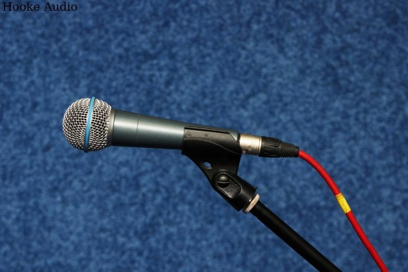 Make sure your mic is clean and fresh