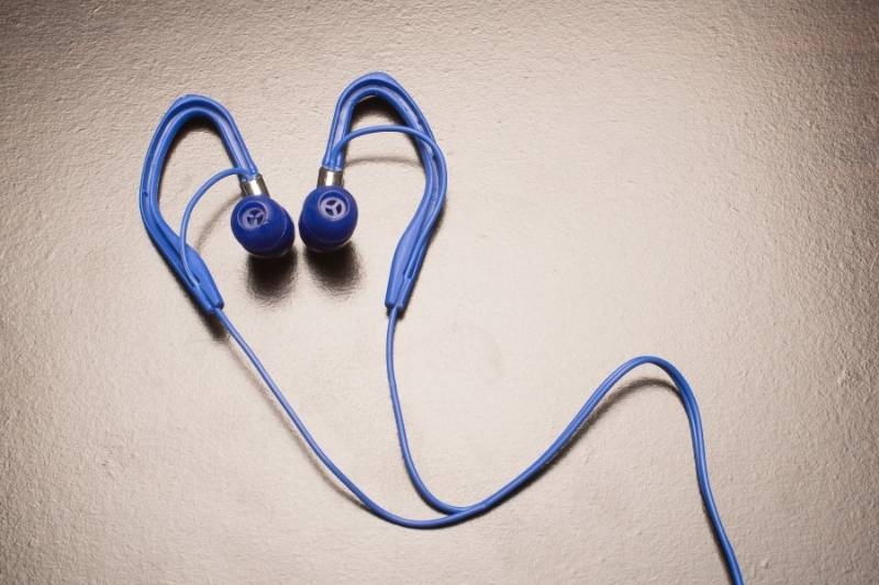 Wrap the wire until you reach your earbuds