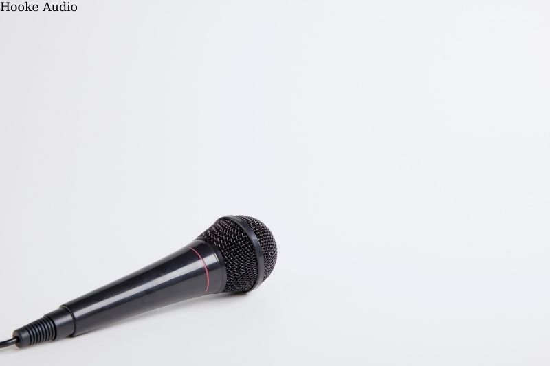 first microphone