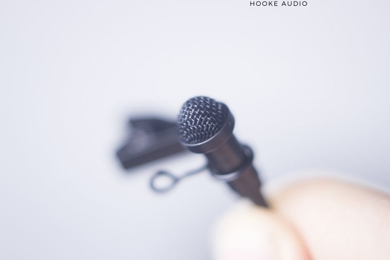 A Lapel Clip Mic With A GoPro