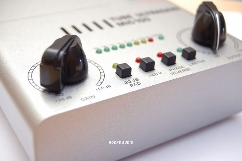 siingle channel mic preamp on a Mic Preamp