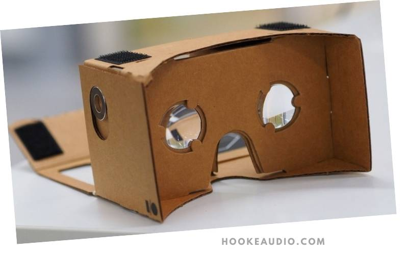 Attaching the Lens to the DIY Google Cardboard VR