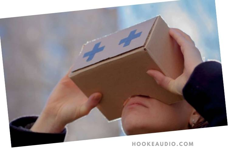 Can you hear sounds from a diy VR headset