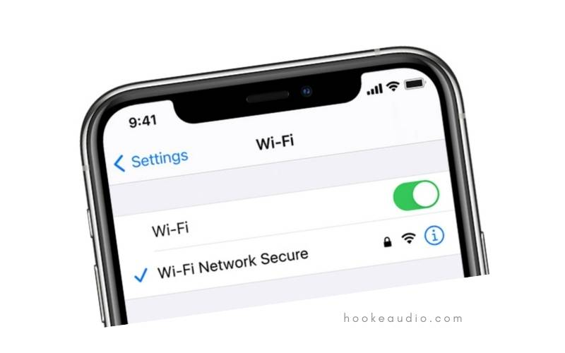 Disable Wi-Fi from your iPhone