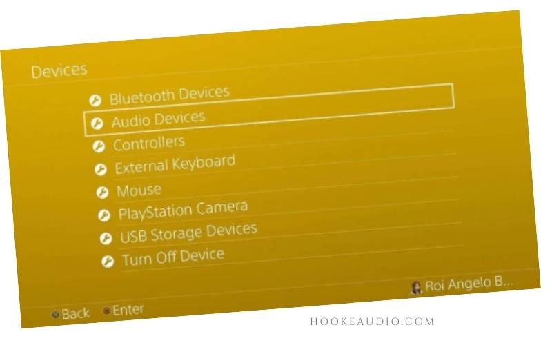Select Audio Devices