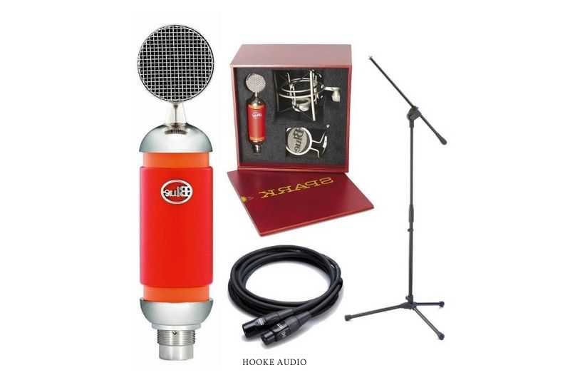 Blue Spark microphone best suited